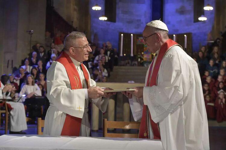 Lisez la déclaration conjointe du souverain pontife et du président de la Fédération luthérienne mondiale