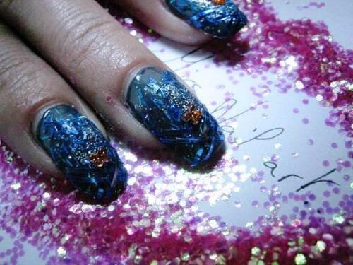 Nail art : Disco