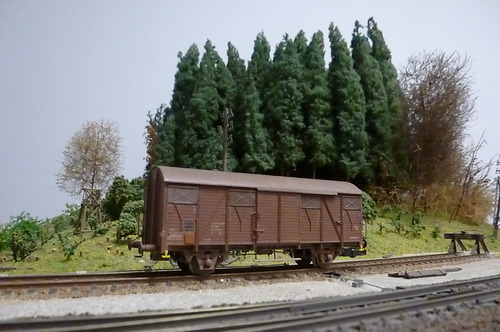 Wagon isolé...