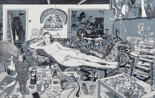 La moto dans les Beaux-Arts