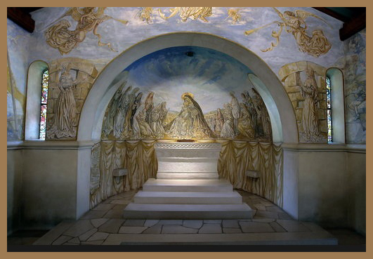 chapelle foujita Notre Dame de la paix