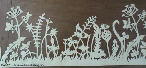 Dentelle papier peint