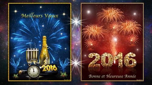 Fond d'Écran pour le Nouvel An 2016