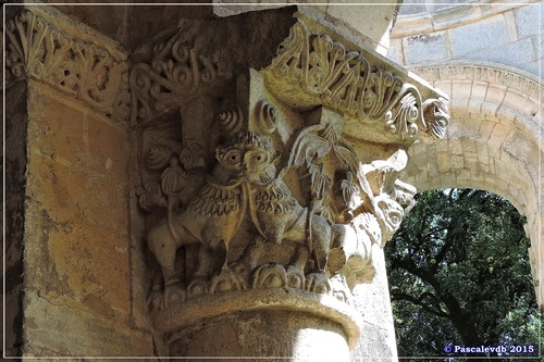 L'abbaye de La Sauve-Majeure - Août 2015 - /10