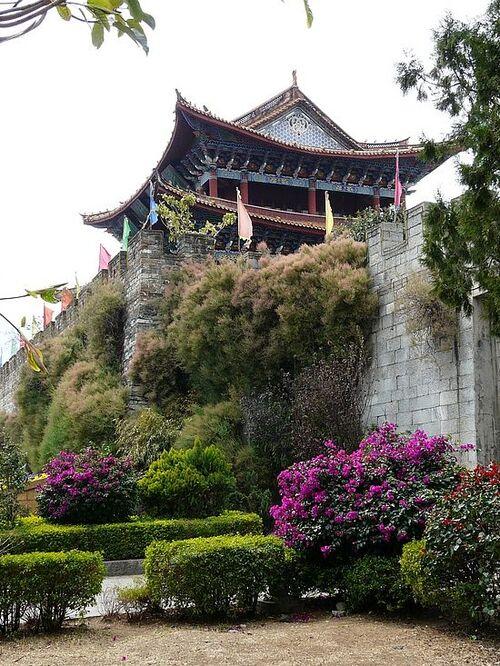 la rue principale de Kunming - suite;