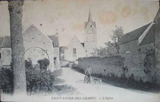 SAINT-LOYER-DES-CHAMPS (rive gauche)