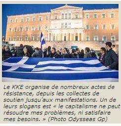 Grèce :: La bataille électorale des communistes