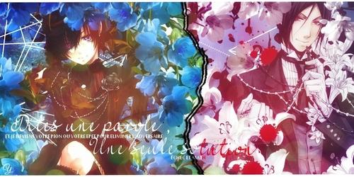 [Carte] Ciel & Sebastian