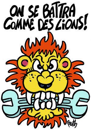 la répression syndicale frappe la CGT Rennes PSA