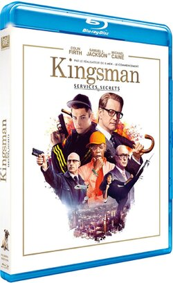 [Blu-ray] Kingsman : Services secrets