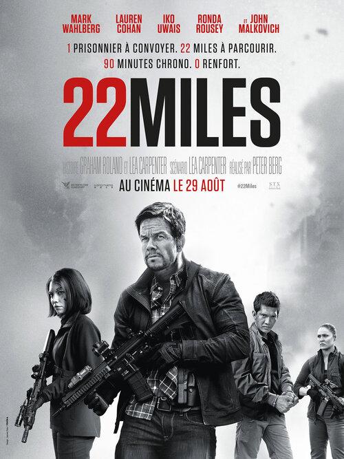 22 MILES avec Mark WAHLBERG - LA BANDE-ANNONCE  !  Au cinéma le 29 août 2018