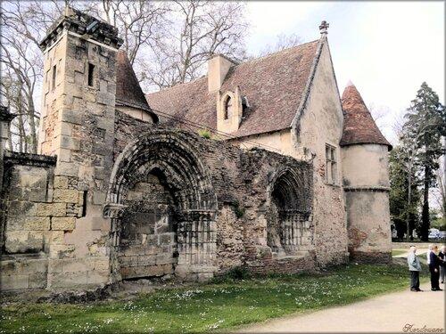 Photos des ruines du prieuré de Cayac à Gradignan