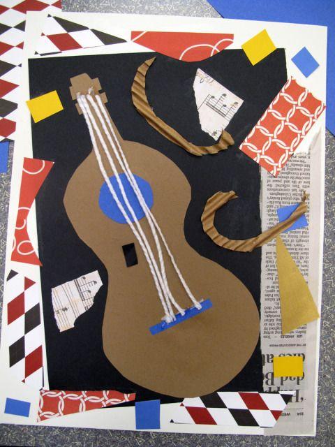 Collage façon Picasso: