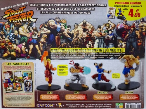 N° 1 Figurines de collection Street Fighter - Test