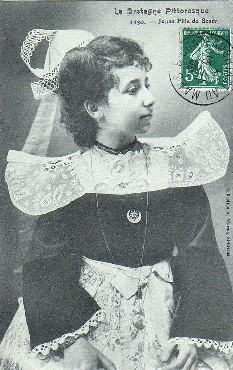 La Bretagne Pittoresque Jeune fille de Scaër   1909