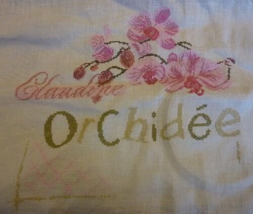LLP orchidée de Trousse Daisy