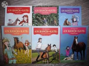 Un ranch pour Kate, les livres :