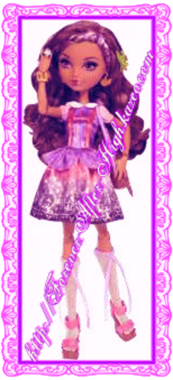 Ever After High-cedar wood-doll