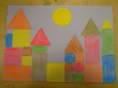Nos châteaux à la manière de Klee