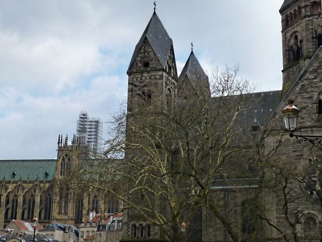 Cathédrale de Metz Travaux 4 09 03 2010
