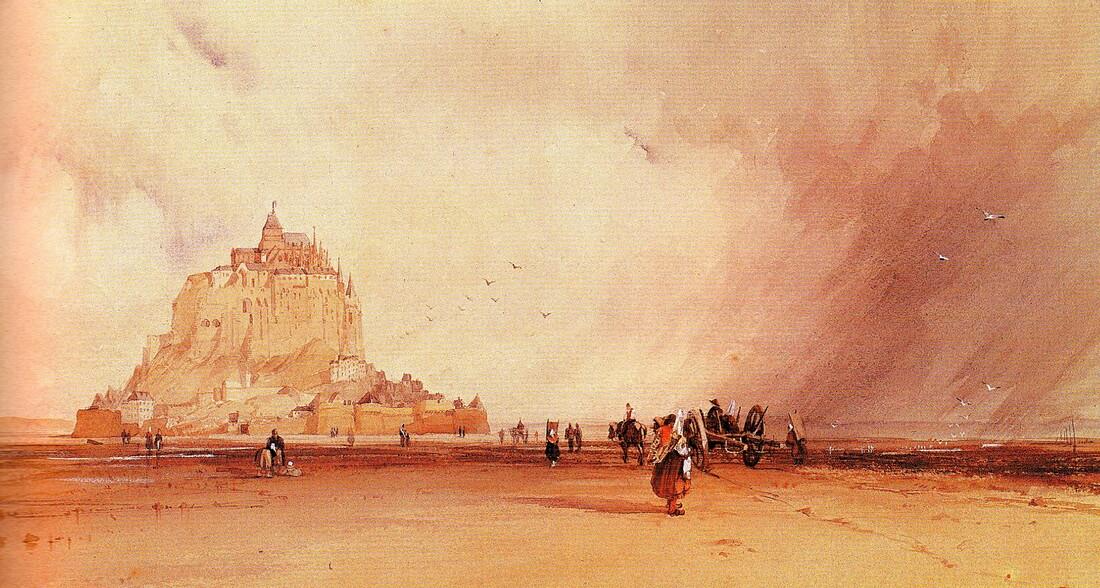 1-Le Mont St Michel