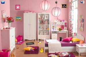 Pink room - Hidden objects