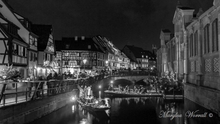 Au temps des marchés de Noël : Colmar, Petite Venise