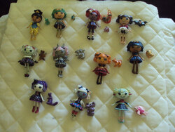 des lalaloopsy monster high !