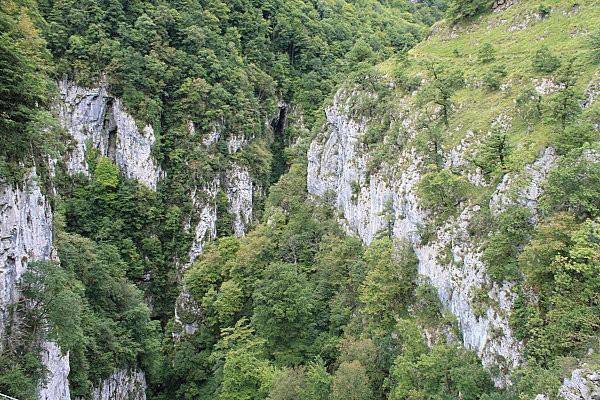 la passerelle d'Holzarte -5-vue depuis le milieu de la pass