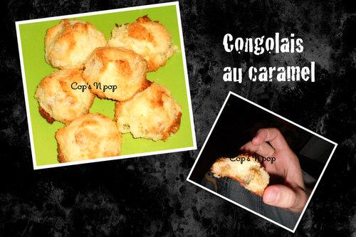 Congolais aux bonbons caramel