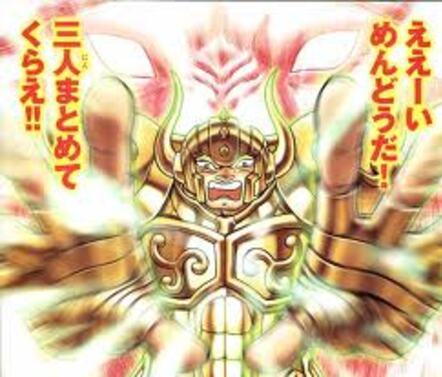 II - Armure du Taureau (Taurus Cloth)