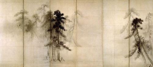 墨絵 Sumi-e: de l'encre à la contemplation.