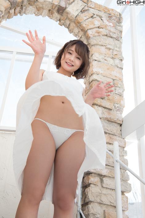 WEB Gravure : ( [UNO x Girlz HIGH!] -   コイビトツナギ Gallery No.19 - Vol.01 : ワンピース   MANA/真奈 )