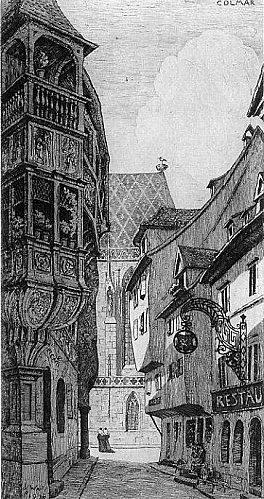 Colmar : rue mercière