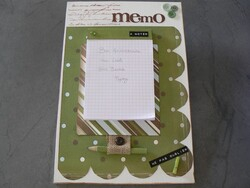 idée cadeau en scrap : le bloc notes post it !!!
