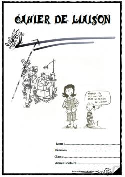 Pages de garde cahier liaison