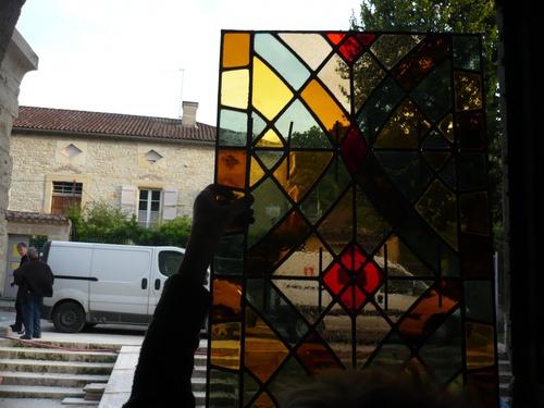 De nouveaux vitraux pour l'église de Catus...