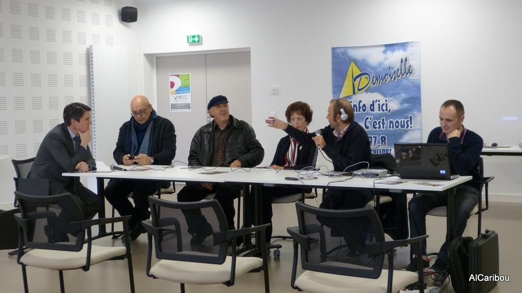 Mickaël Vallet, Daniel Thériault, Donat Lacroix, Emé Lacroix, Arnaud Develde