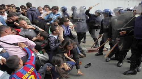 Répression policière de partout dans le monde en 2019