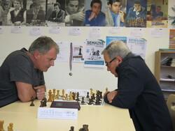 deux tournois ;  Jeunes « des Galettes » aux Rotondes, Vainqueur Taki-Eddine Haddad et  Adultes vainqueurs Ex-aequo Julien Guigue et Jean-Marc Leprêtre.