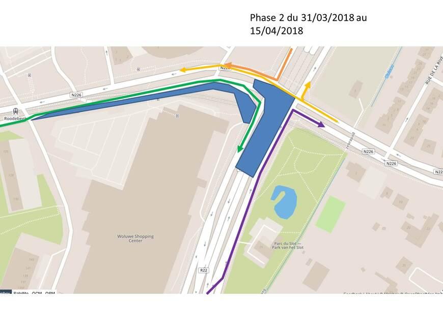 Chantier du tram 94 : Nouvelles dispositions à partir de 31 mars