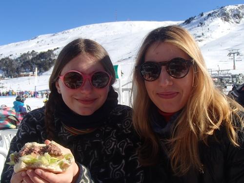 ski sous le soleil