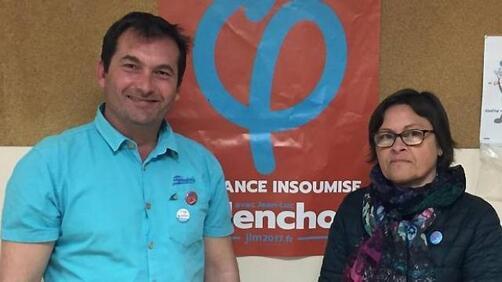 Les groupes d'appuis des Pays de Landerneau, des Abers et du Léon ont élu un binôme mixte, composé de Johan Laurent et Karine Demoulin.