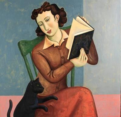 09 - Femmes lisant - Peintures, suite