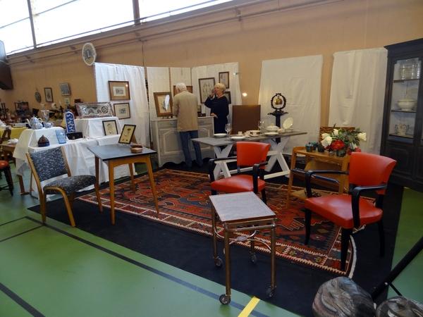 Le Lion's Club Châtillonnais a organisé un très beau salon des antiquaires en avril 2014