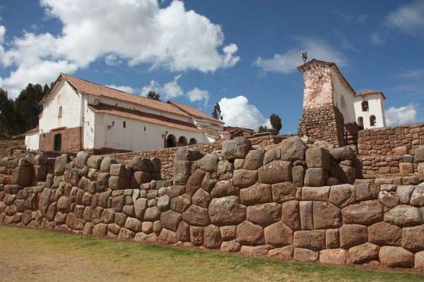 Chinchero, village de l'arc-en-ciel