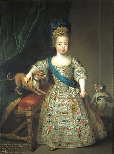 Louis XV child by Gobert