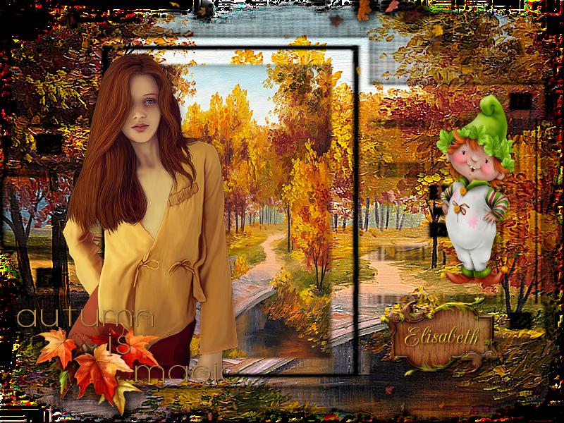 Tuto n° 2 de Domi : Autumn Jeu de masques