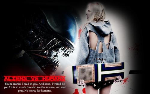 Aliens Vs Humans