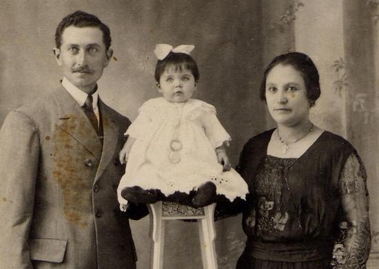 di Costanzo Thomas et Ursule avec leur aînée Nanette
